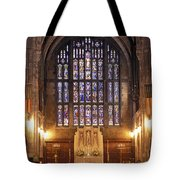 Cadet Chapel With Stained Glass Windows Tote Bag
