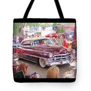 Cadillac Coupe Deville Tote Bag
