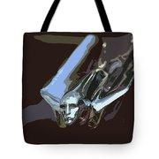1949 Cadillac Hood Ornament Tote Bag