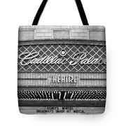 Cadillac Palace Tote Bag