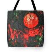 Cadmium And Green Tote Bag