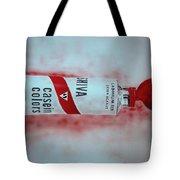Cadmium Red Tote Bag