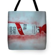 Cadmium Red Tote Bag