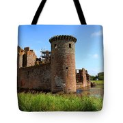 Caerlaverock Castle, Scotland Tote Bag