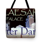 Caesars Palace After Dark Tote Bag