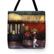 Cafe - Jolly Trolley Tote Bag