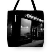Cafe At Night  Tote Bag by Andrew Fare