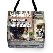 Cafe Beignet Summer Day Tote Bag