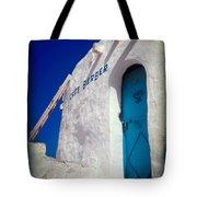 Cafe Berber Tote Bag