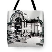Cafe De Carl Tote Bag