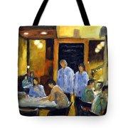 Cafe Des Artistes Tote Bag