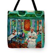 Cafe Du Monde Revisited  Tote Bag