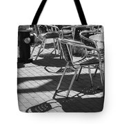 Cafe Hydrant Tote Bag