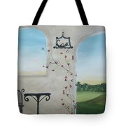 Cafe In Tuscany Tote Bag