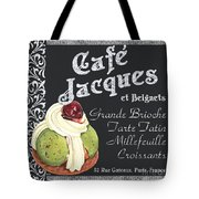 Cafe Jacques Tote Bag