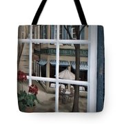 Cafe On The Left Bank Of Paris Tote Bag