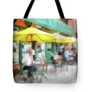 Cafe Pizzaria Tote Bag