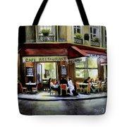 Cafe Regulars Tote Bag