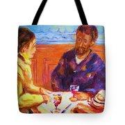 Cafe Renoir Tote Bag
