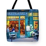 Cafe Restaurant Tote Bag