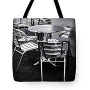 Cafe Seating Tote Bag