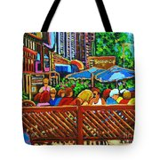 Cafe Second Cup Tote Bag