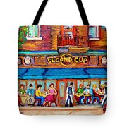 Cafe Second Cup Terrace Tote Bag
