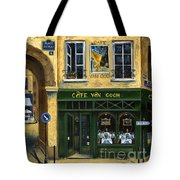 Cafe Van Gogh Paris Tote Bag by Marilyn Dunlap