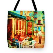 Cafe Vienne Tote Bag