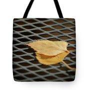 Caged Leaf Tote Bag