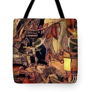 Caged Luxury Syndrome   Tote Bag