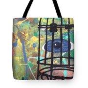 Caged Vision  Tote Bag