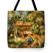 Cagnes Landscape 1 Tote Bag