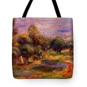 Cagnes Landscape 1908 Tote Bag