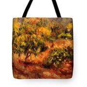 Cagnes Landscape 1919 Tote Bag