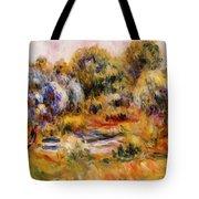 Cagnes Landscape 2 Tote Bag