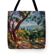 Cagnes Landscape With Woman And Child 1910 Tote Bag