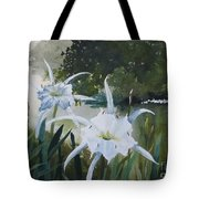 Cahaba Lilies Tote Bag