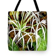 Cahaba Lily In Huntington Botanical Gardens In San Marino-california Tote Bag