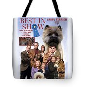 Cairn Terrier Art Canvas Print - Best In Show Movie Poster Tote Bag