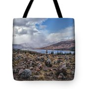 Cairns Of Loch Loyne Tote Bag
