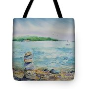 Cairns On The Beach Tote Bag