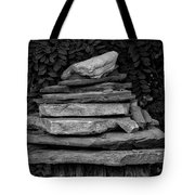 Cairns Rock Trail Marker Bluff Utah 01 Bw Tote Bag