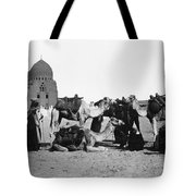 Cairo: Group Of Camels Tote Bag
