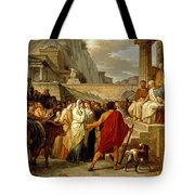 Caius Furius Cressinus Accused Of Sorcery Tote Bag