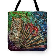 Cajun Accordian Tote Bag