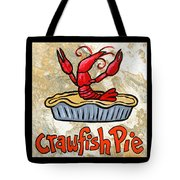 Cajun Food Trio Tote Bag by Elaine Hodges