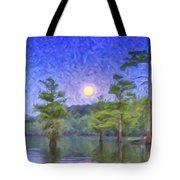 Cajun Moon Tote Bag