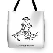 Cake Competitor Tote Bag