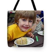 Cake Face Tote Bag